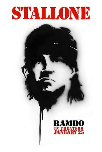 Nuevo póster de 'Rambo' de Stallone