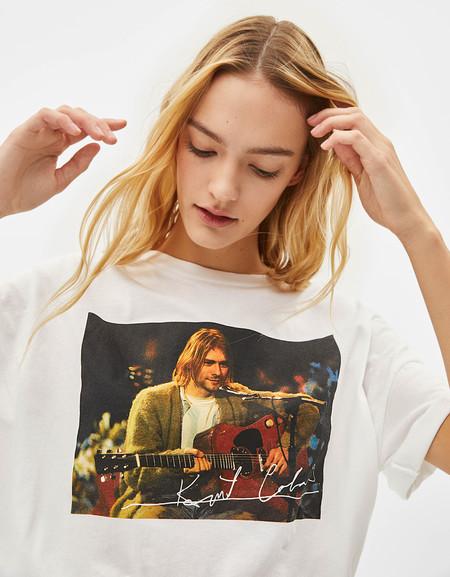 Bershka Camisetas Banda 90 05