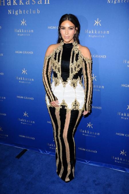 Kim Kardashian Balmain Las Vegas 2