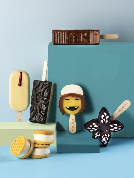 Así es la edición especial de helados inspirados en Stranger Things que ha creado Jordi Roca (y que puedes saborear gratis en Rocambolesc)