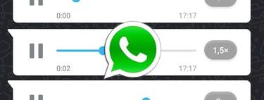Cómo escuchar los audios de WhatsApp más rápido: así se cambia la velocidad de reproducción