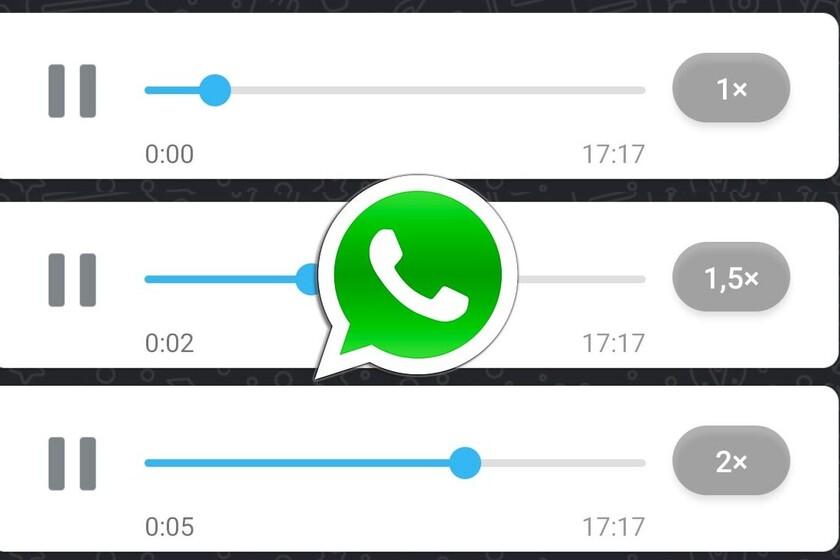 Cómo cambiar la velocidad de reproducción de los audios en WhatsApp