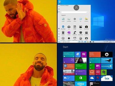 El hombre que lideró el desarrollo de Windows 8 y su mal recibida interfaz se ha burlado del nuevo menú inicio de Windows 10