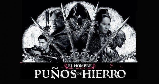 Imagen con el cartel de 'El hombre con los puños de hierro'
