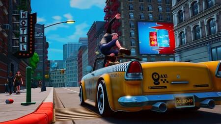 Taxi Chaos es justo lo que imaginas tras ver su tráiler de presentación: el sucesor espiritual del clásico de SEGA