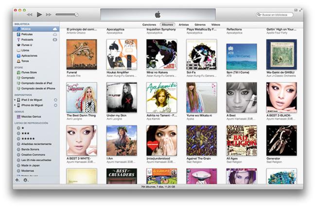 iTunes 11 vieja escuela