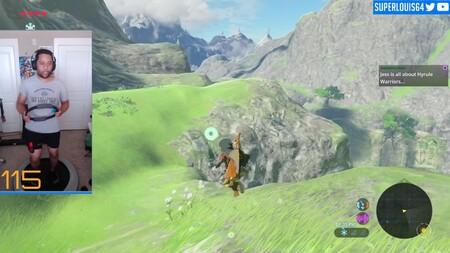 Jugar a Zelda: Breath of the Wild con el Ring-Con de Ring Fit Adventure es posible, aunque requerirá que estés muy en forma