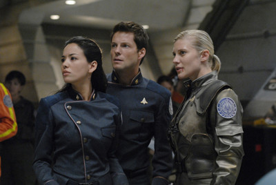 La temporada final de Battlestar Galactica no empezará hasta abril