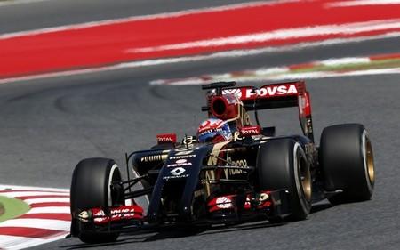 Romain Grosjean, quinto, confirma la recuperación de Lotus