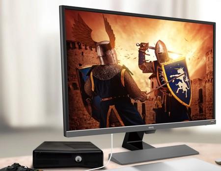 Oferta del día en Amazon: monitor gaming BenQ 4K de 32 pulgadas por 379 euros