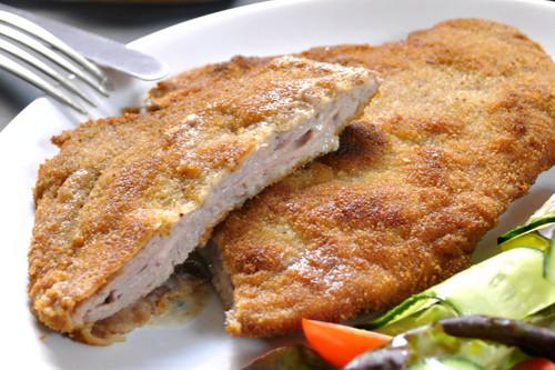 Cachopo de jamón cocido y queso azul: receta popular asturiana
