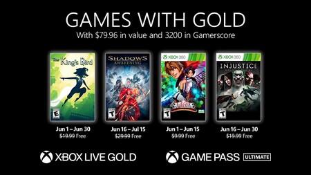 Shadows: Awakening e Injustice: Gods Among Us entre los juegos de Games with Gold de junio de 2021