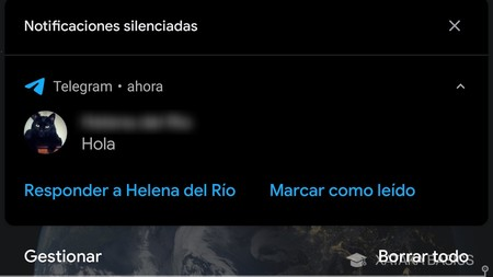 Notificacion Android 10