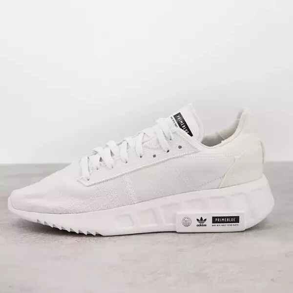 Zapatillas de deporte blancas Geodiver Primeblue de adidas Originals