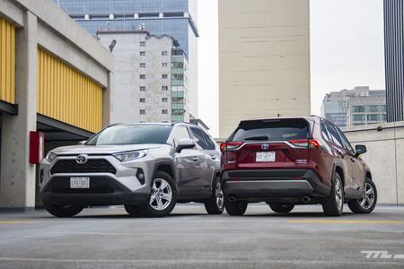 Consumo híbrido Toyota RAV4 México 1 13