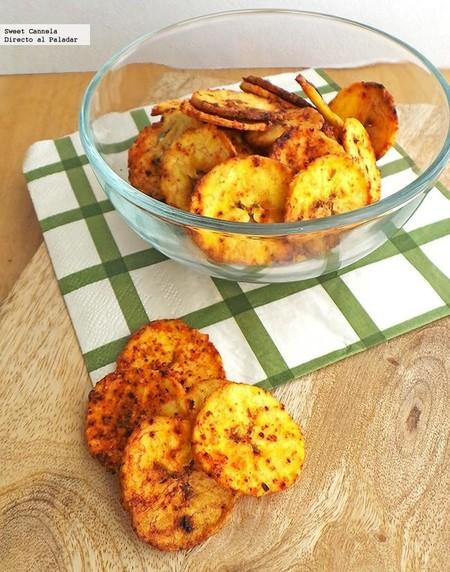 Chips Platano Limon Recetas Faciles Botanas Hacer Casa