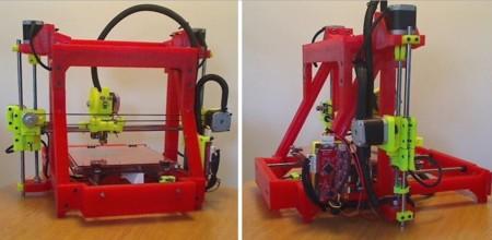 ¿Una impresora 3D impresa por una impresora 3D? Por supuesto