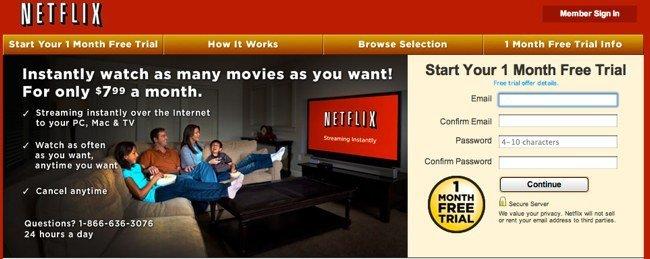 Bienvenido a Netflix