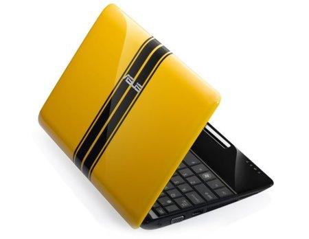 ASUS Eee PC 1001PQ, ultraportátil para niños con carcasas personalizables