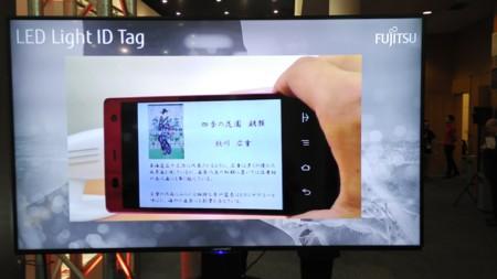 Olvídate de los QR, Fujitsu quiere que uses la luz para identificar objetos con el móvil