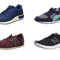 Chollos en tallas sueltas de zapatillas Nike, New Balance o Puma por menos de 35 euros en Amazon