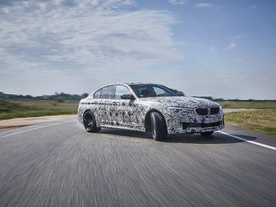 El nuevo BMW M5 confirma sus 600 hp y tracción integral en 71 fotos y un video