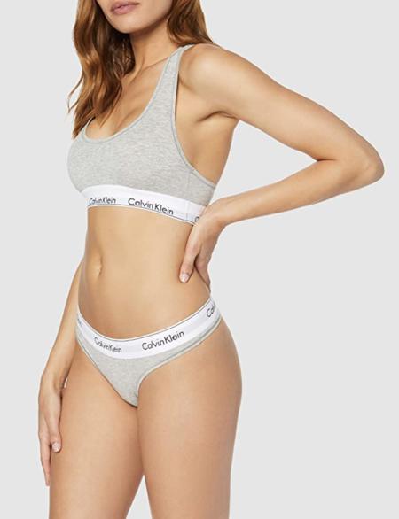 Calvin Klein Modern Cotton Bralette Bikini Para Mujer