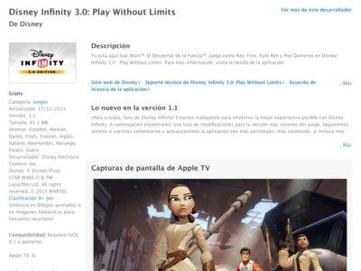 Ya podemos ver previsualizaciones de aplicaciones para el Apple TV desde la web
