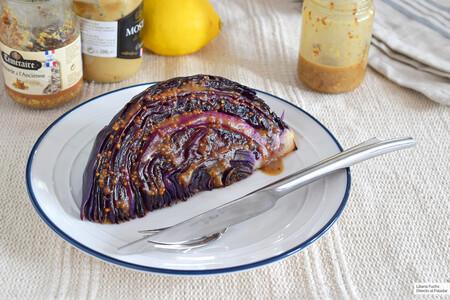 Lombarda al horno con vinagreta de mostaza: receta súper fácil para convertir esta col en una guarnición exquisita