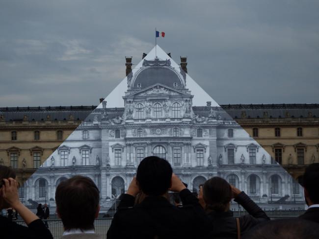 Desaparece pirámide Louvre