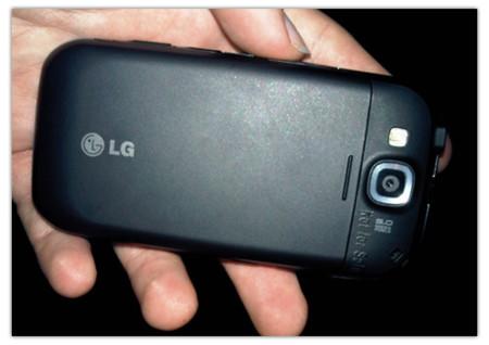 LG GW620, Android con interfaz personalizada
