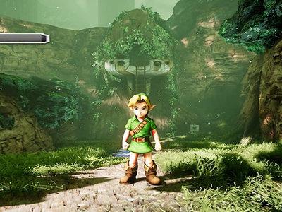 Recrean en Unreal Engine 4, Kokiri Forest de The Legend of Zelda: Ocarina Of Time y se ve excelente