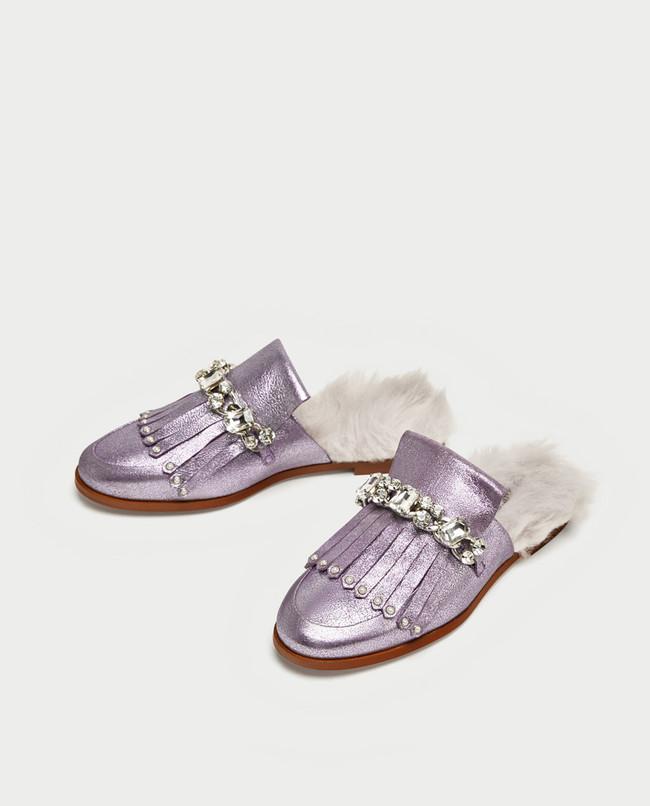 Zapatos De Pelo