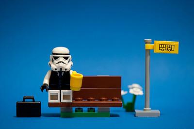 LEGO, también, un juego fotográfico para niños y mayores