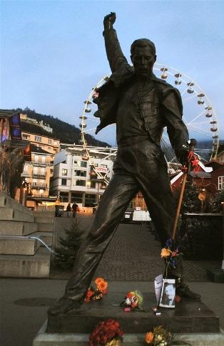 Monumento Freddie Mercury