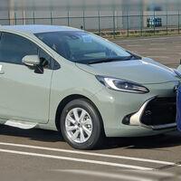 ¡Espiado! El Toyota Prius C 2022 deja al descubierto su nueva generación desde Japón