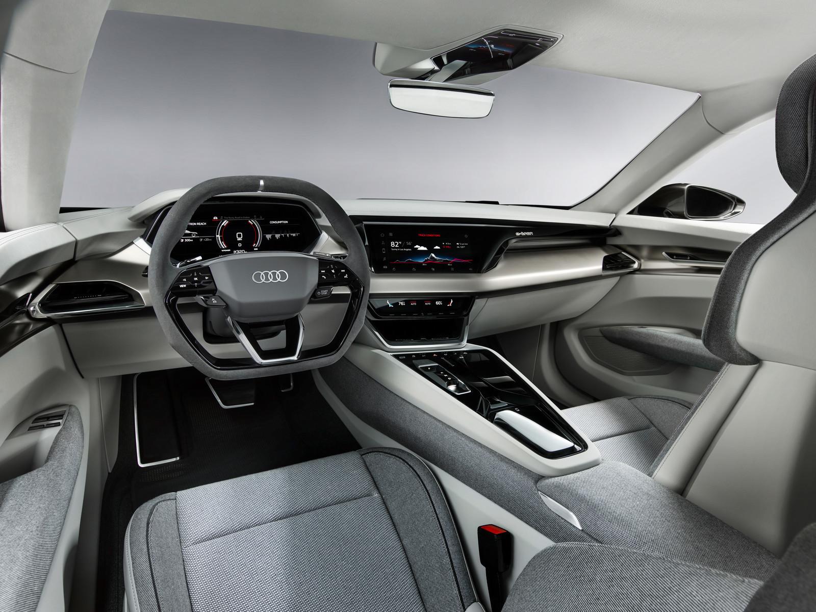 Foto de Audi e-tron GT concept 2018 (48/55)