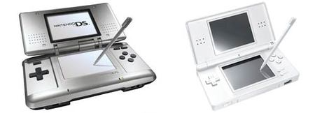Nintendo DS, modelo original y modelo Lite