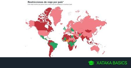 Cómo mirar online las restricciones derivadas del COVID-19 si vas a viajar al extranjero