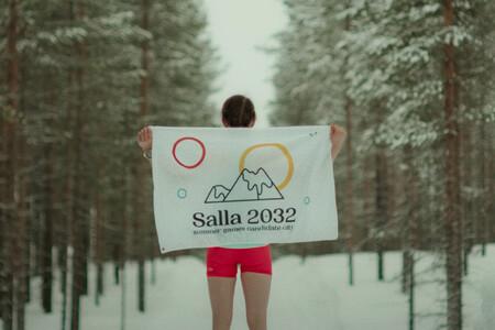 La ciudad más fría de Finlandia, Salla, quiere organizar los Juegos Olímpicos. De verano