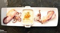 Receta de calamar a la plancha con mayonesa de especias