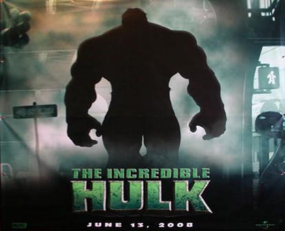 Primer póster de 'The Incredible Hulk'