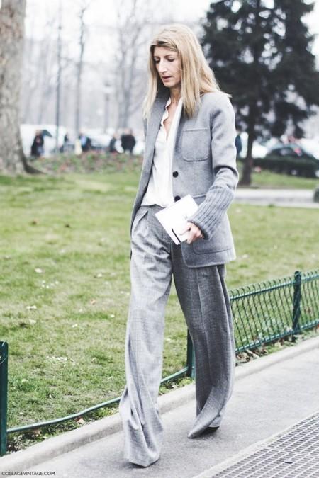 Paris Fashion Week Fall Winter 2015 Street Style Pfw Chanel Sarah Ruston 5 790x1185