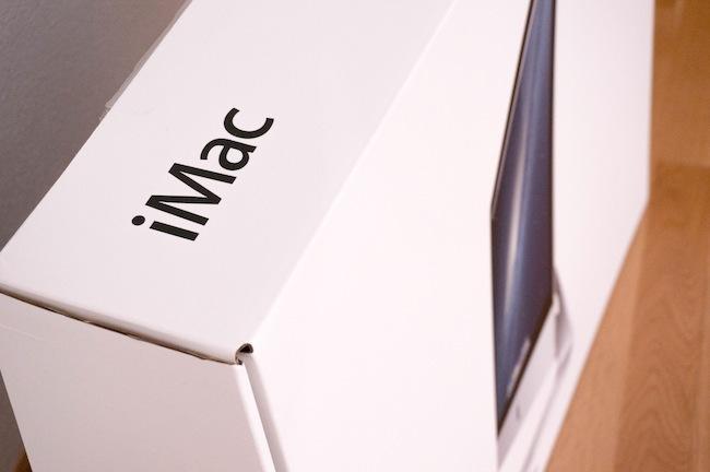 Análisis iMac 27 caja