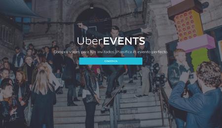 UberEVENTS, genera códigos de descuento para los invitados a tus eventos en México