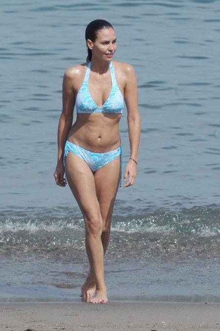 Inés Sastre bikini