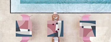 Diseños geométricos de Jonathan Lawes, la nueva apuesta de Diabla para este verano