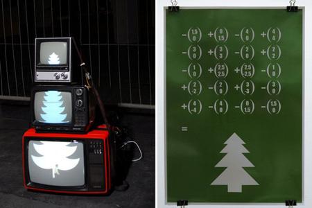 Artes conceptual arbol de navidad