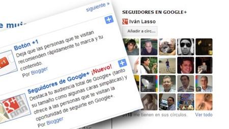 Blogger cuenta ahora con un gadget nativo que muestra nuestros seguidores en Google+