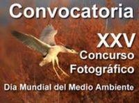 """XXV Concurso Fotográfico """"Día Mundial del Medio Ambiente"""""""
